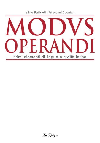 Modusoperandi By Eli Publishing Issuu