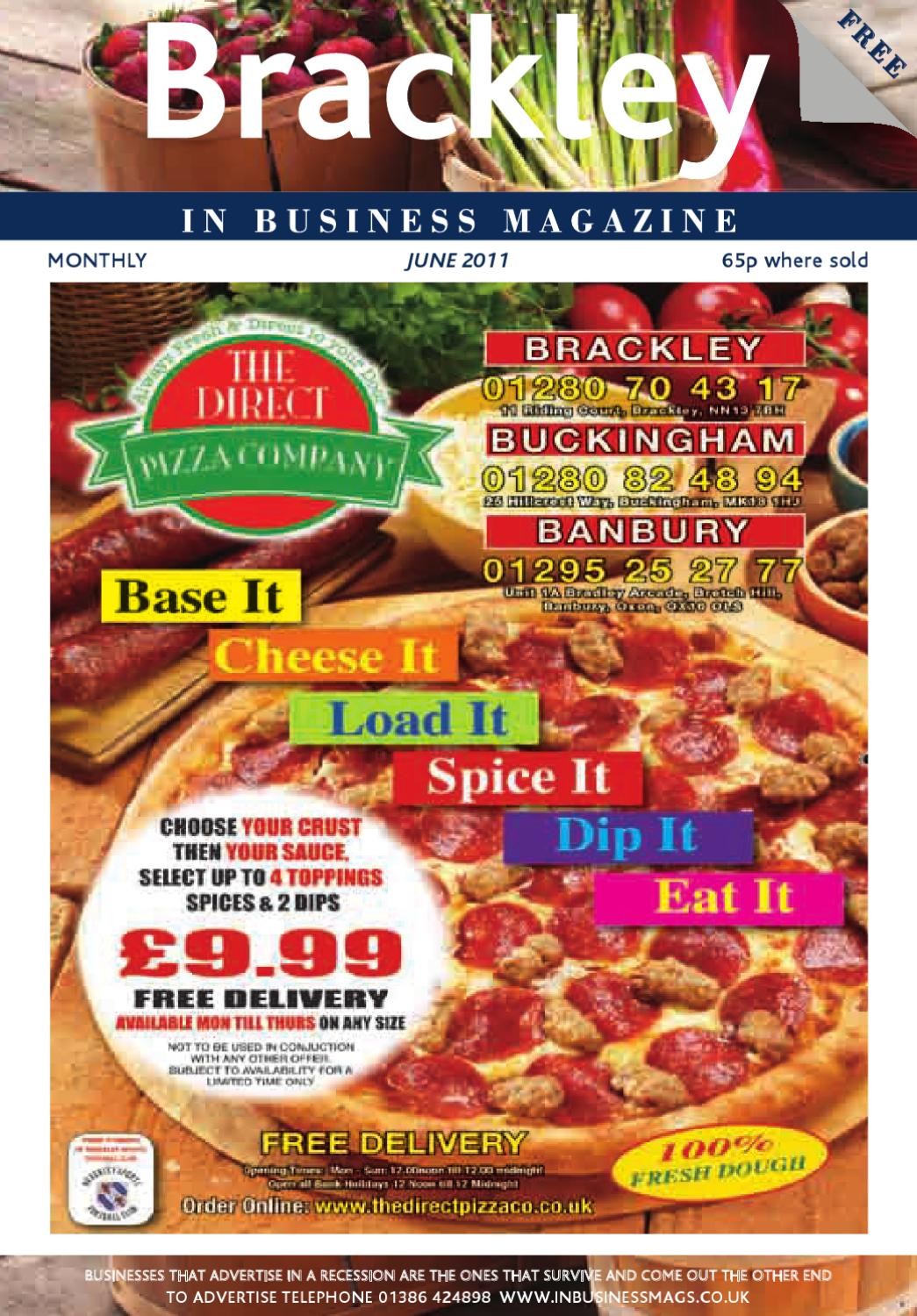 Brackley In Business Junes Issue By Best Area Magazines Ltd