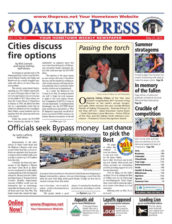 Oakley Press_05 27 11 by Brentwood Press & Publishing - issuu