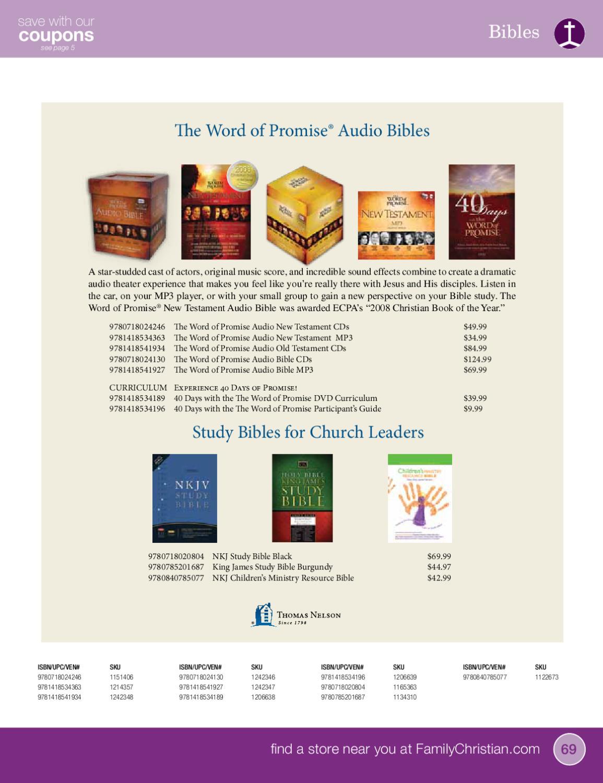 Family Christian Church Resources Catalog
