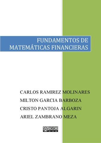 Page 1. FUNDAMENTOS DE MATEMÁTICAS FINANCIERAS 5dcd9fbd8a8