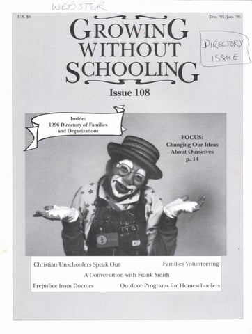 Growing Without Schooling 108 By Patrick Farenga Issuu