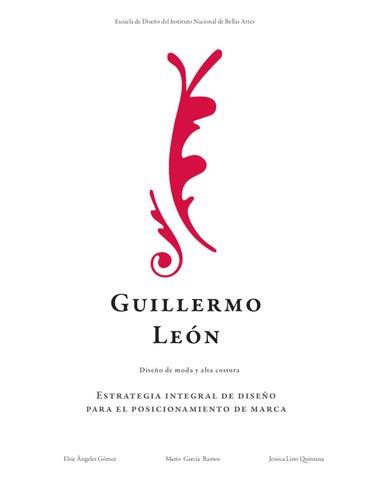 Guillermo León  Diseño de moda y Alta Costura by Jessica Lino - issuu 6b94005823da9