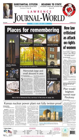 817763d5c6 Lawrence Journal-World 05-27-11 by Lawrence Journal-World - issuu