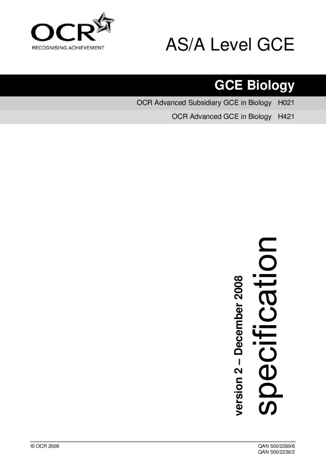 Ocr a2 biology coursework yeast top speech ghostwriters site for college