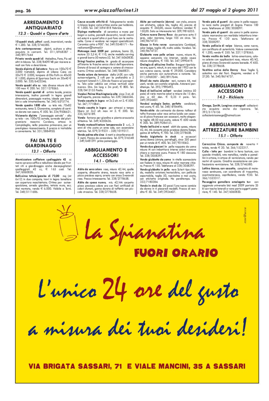 2011 27 Issuu Maggio By Marco 584 Piazzaffari N Del Cau mvn0N8w