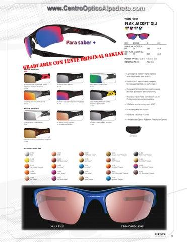 314097f0bf Gafas Oakley by Centro Optico Alpedrete - issuu