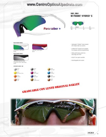 Gafas Oakley by Centro Optico Alpedrete - issuu 7593e3032259