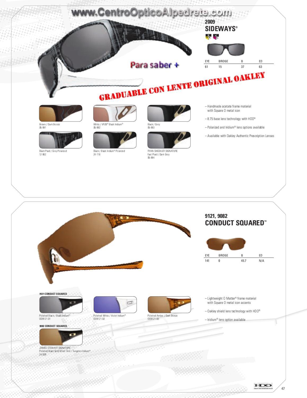 ddff14ac760f Oakley Conduct James Stewart Signature Sunglasses