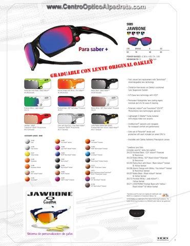 795704c69b3 Gafas Oakley by Centro Optico Alpedrete - issuu