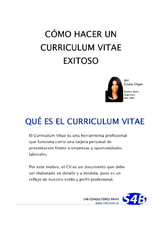 CURRICULUM EXITOSO EN 5 MINUTOS by RAYMUNDO CARLOS PULIDO - issuu