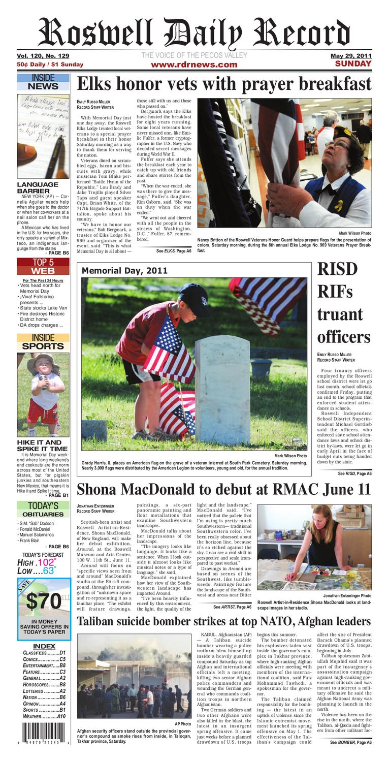 9399d1051354f7 05-29-2011 by Roswell Daily Record - issuu