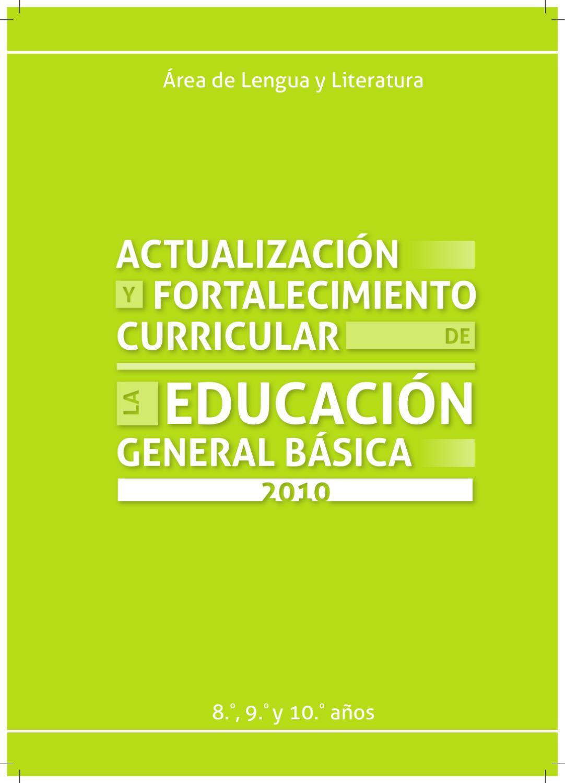 ACTUALIZACION CURRICULAR DE LENGUA Y LITERATURA by Abdón Caicedo ...
