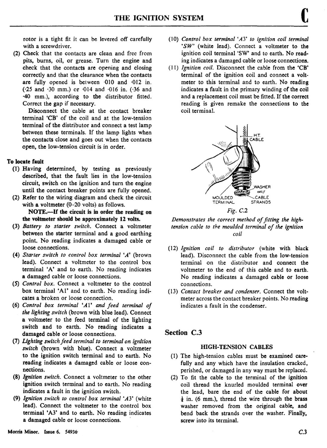 Morris Minor Service Manual By Oxford Issuu Wiring Diagram