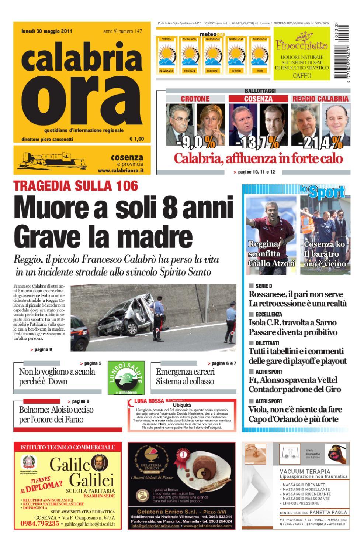 30-05-2011cs by Redazione CalabriaOra Redazione - issuu adca6732f44