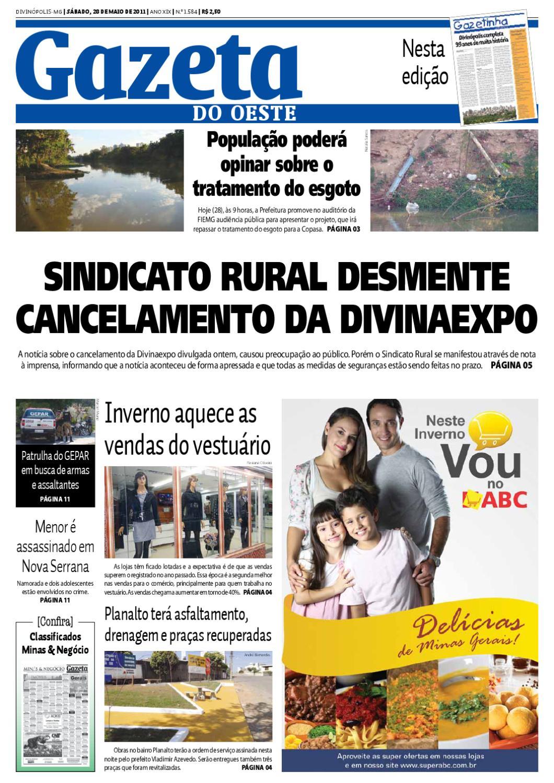 ebf1591955892 Gazeta do Oeste - Edição 1584 by Portal G37 - issuu