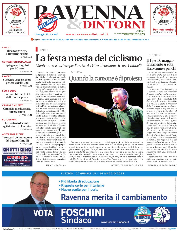 Ravenna & Dintorni 440 12 05 2011 By Reclam Edizioni E