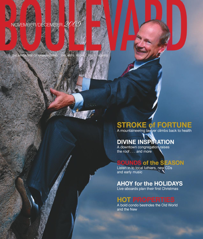 9872792fc0 Boulevard Magazine - November December 2009 Issue by Boulevard Magazine -  issuu