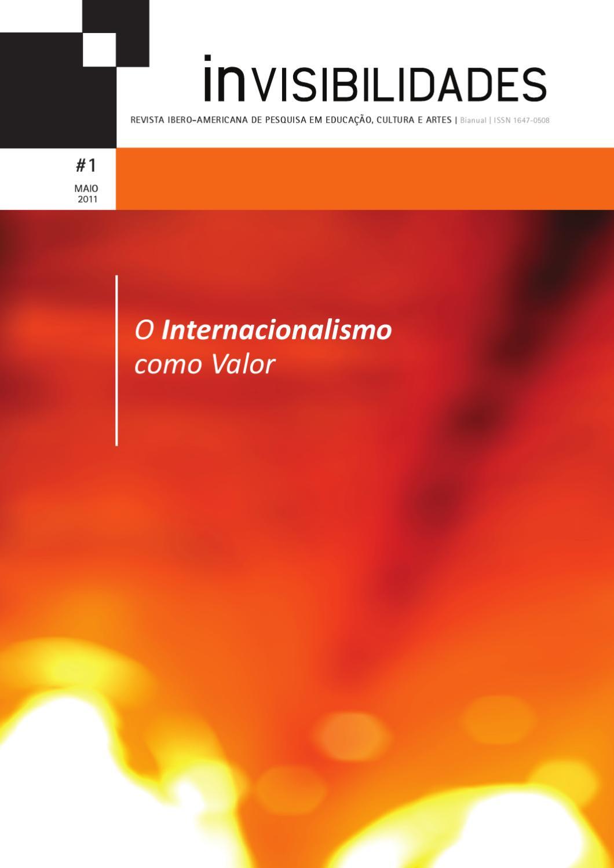 Invisibilidades 1 Maio De 2011 By Revista Invisibilidades