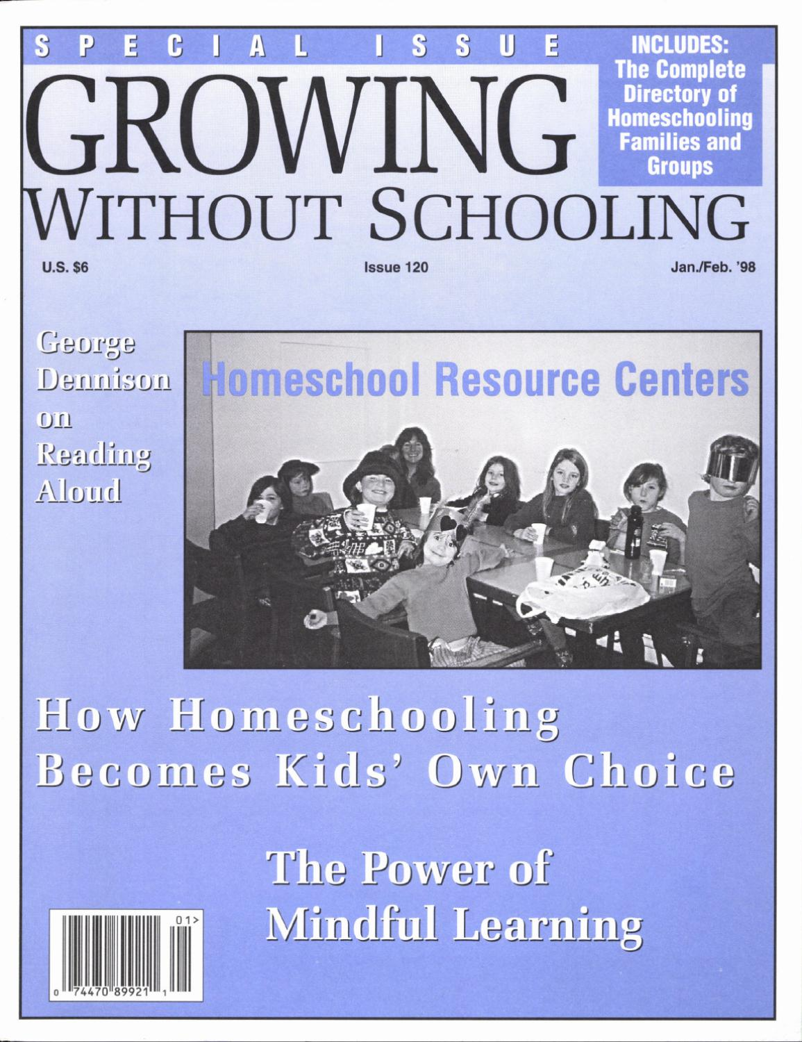 Growing Without Schooling 120 By Patrick Farenga Issuu Tara Omega Q