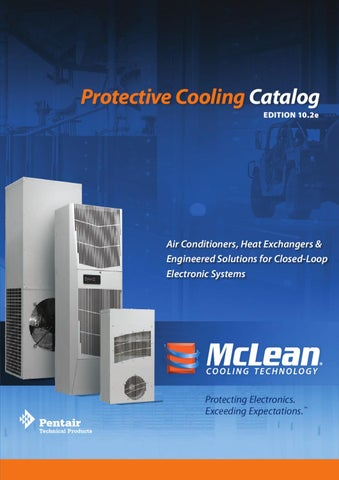 Protective cooling mcleancooling technologypentair technical protective cooling catalog edition 102e air conditioners publicscrutiny Image collections