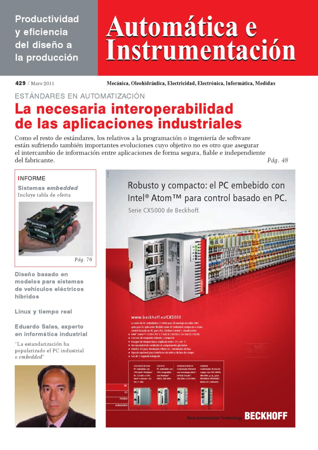 Automatica - 429 by Digital Newspapers S.L. - issuu
