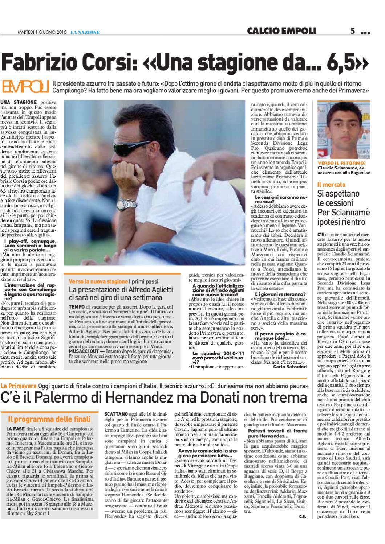 La Nazione Empoli Sport Stagione 2010-11 by g b - issuu d05f272abff