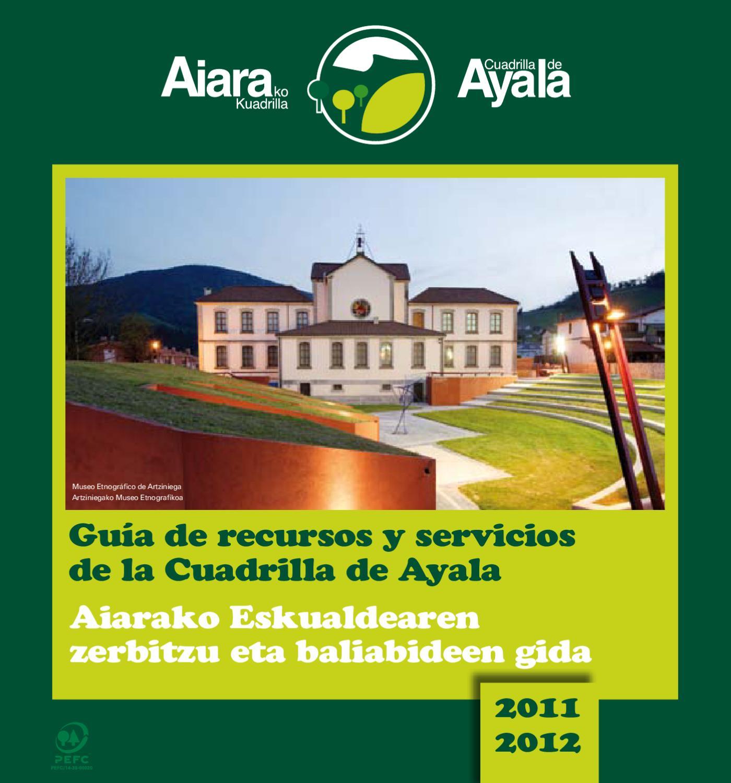 Gu A De Servicios De La Cuadrilla De Ayala 2011 2012 By Manu  # Muebles Ugarte Bergara