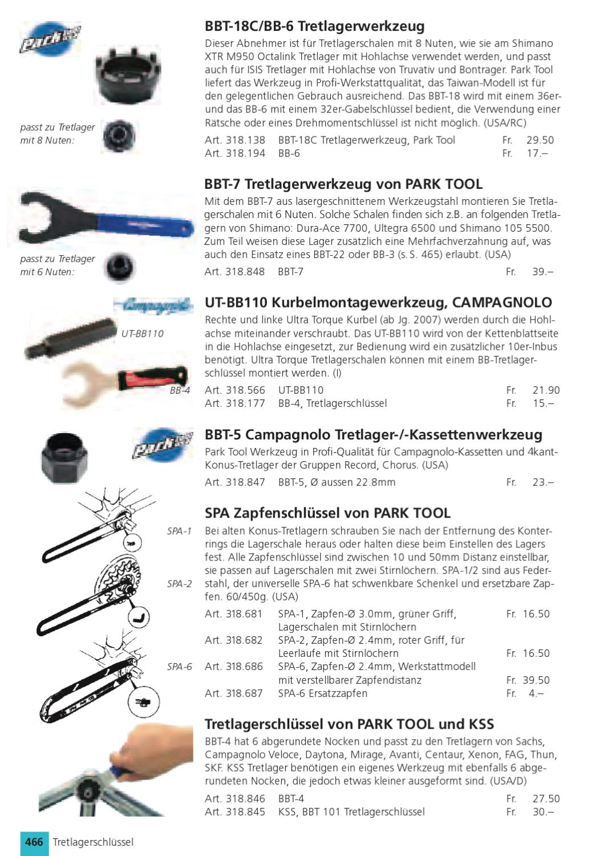 XLC Innenlager/Kurbelmontageschlssel Shimano & Truvativ