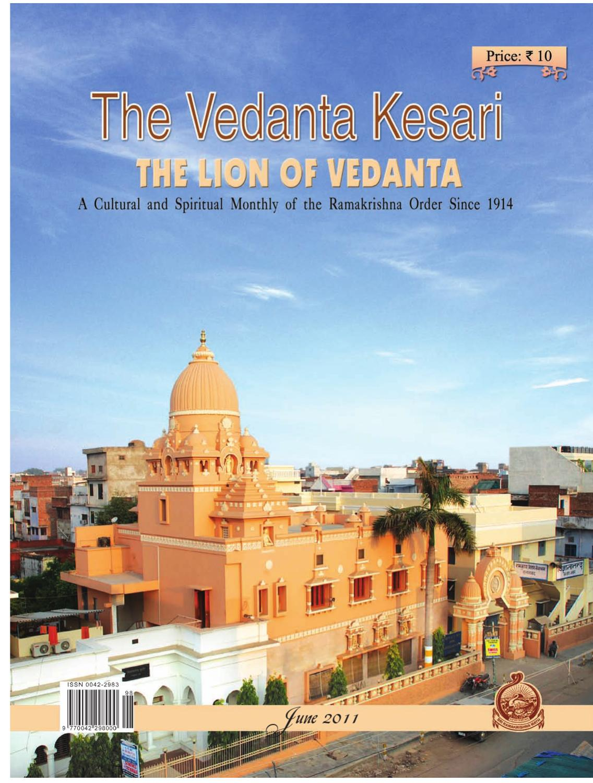 The Vedanta Kesari June 2011