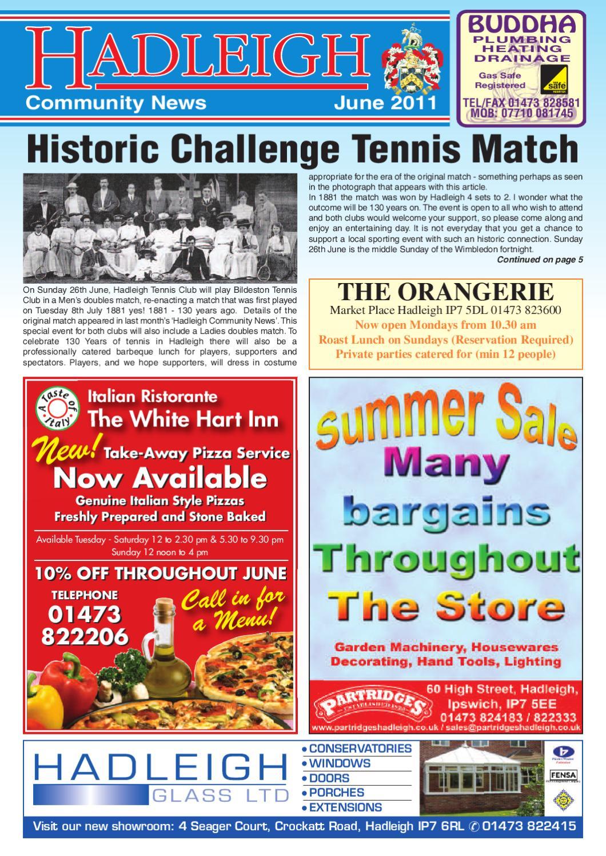 Hadleigh Community News, June 2011 by Keith Avis Printers