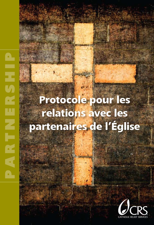 protocole pour les relations avec les partenaires de l