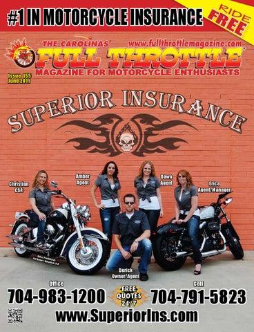 June 2011 - Issue 154 by The Carolinas  Full Throttle Magazine - issuu 707997989