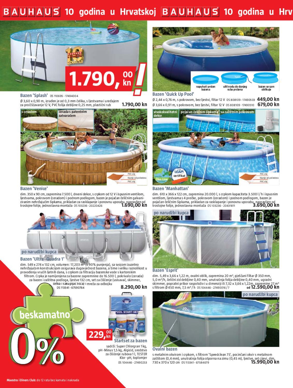 Bauhaus katalog by katalozi akcije popusti for Bauhaus pool katalog
