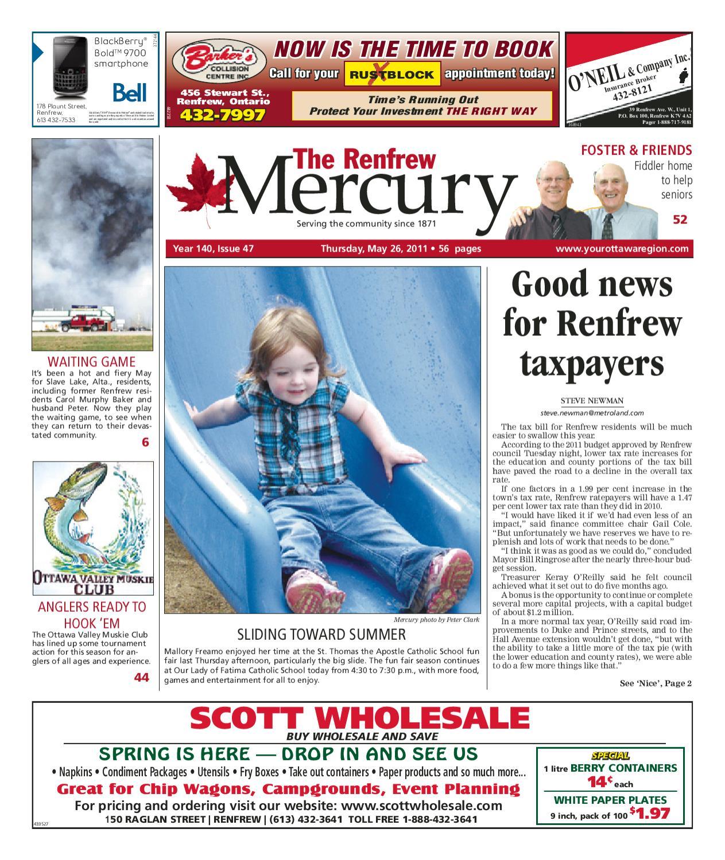 Renfrew Mercury by Metroland East - Renfrew Mercury - issuu