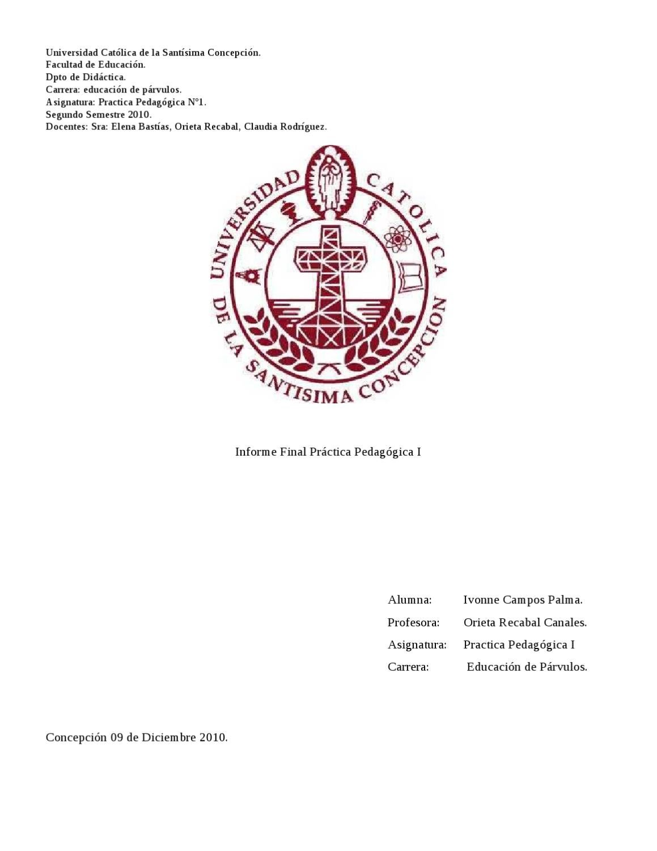 informe de practica by Susana Campos - issuu