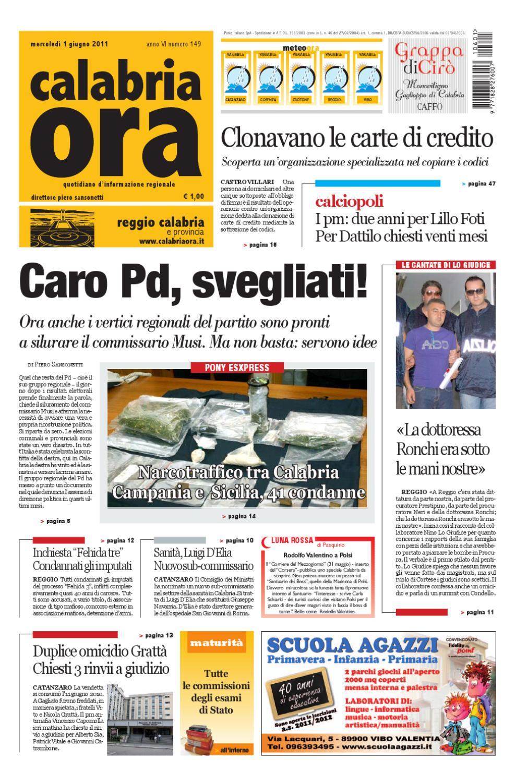 01 06 2011rc By Redazione Calabriaora Redazione Issuu