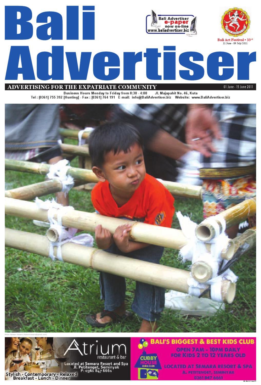 a8afe536 BA_01 June 2011 by Bali Advertiser - issuu