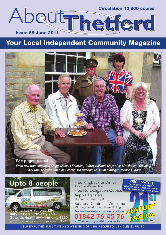 June About Thetford Magazine By Trevor Bowden Issuu Premium Touch Control Panel Marine