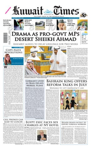 963e35c9251853 01 Jun by Kuwait Times - issuu