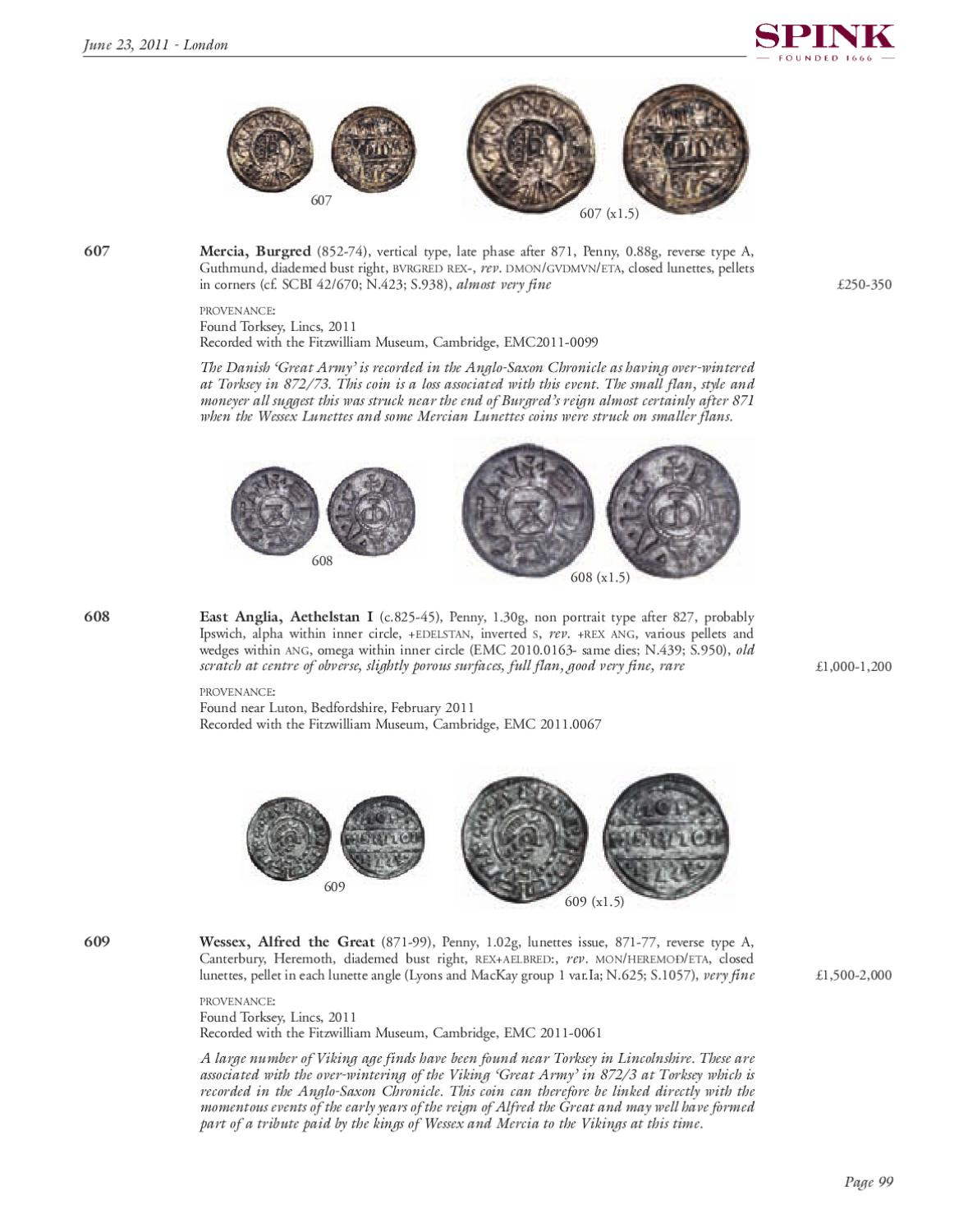Ancient, British and Foreign Coins and Commemorative Medals