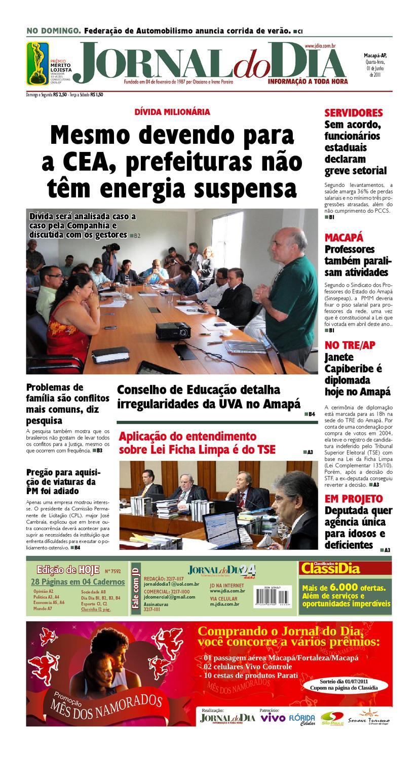 9de42a37b jdia 01 06 2011 by Jornal Do Dia - issuu
