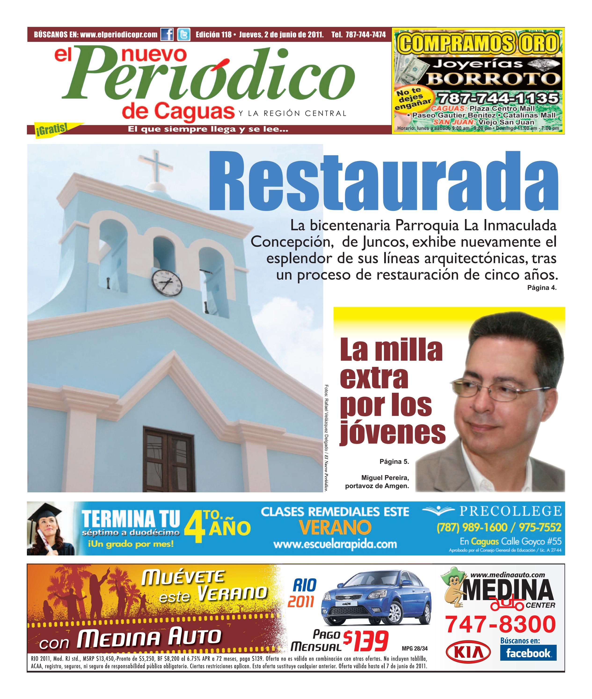 El Nuevo Periodico De Caguas Edicion 118 By El Nuevo Periodico  # Ahorro Muebles Caguas Direccion
