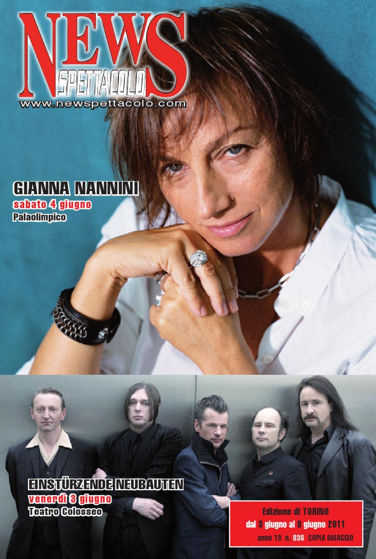 News Spettacolo Torino Del 2 06 11 By Edizioni B L B Snc Issuu