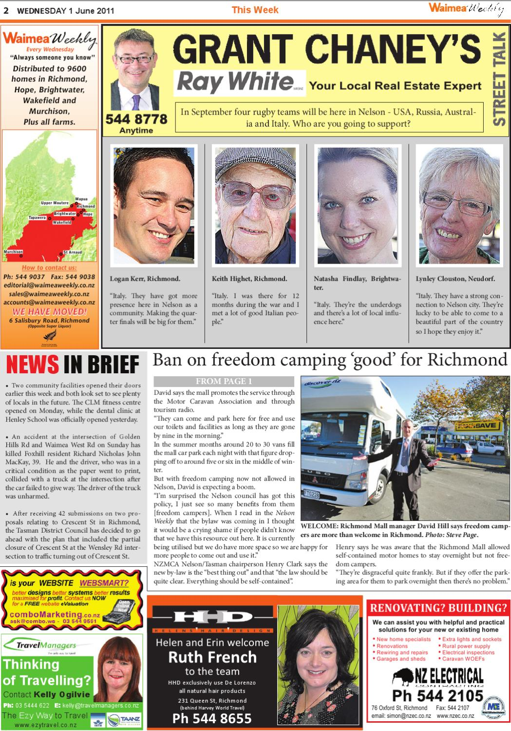 01 June 2011 by Waimea Weekly Ltd - issuu