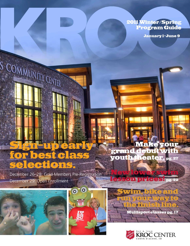 The Salvation Army Kroc Center Winter 2011 Program Guide By The Salvation Army Kroc Center Coeur