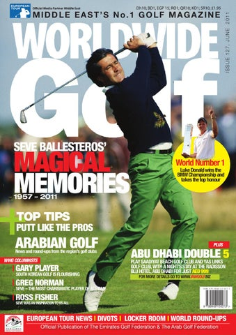 Worldwide Golf June 2011 Middle East Number One Golf