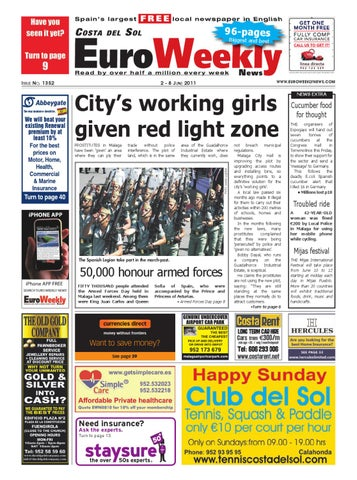 costa del sol 2 8 june 2011 issue 1352 by euro weekly news media