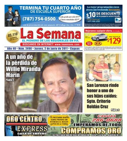 La Semana Edicion 2496 del 2 al 6 de junio 2011 by Daniel ... f5a1f8ccc5f1b