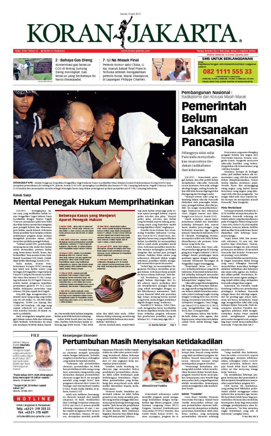 Si Digital 24042013 By Seputar Indonesia Issuu Liquid 100 Ribu 4 Mrc Mira Support Tak Takut Cukai 57
